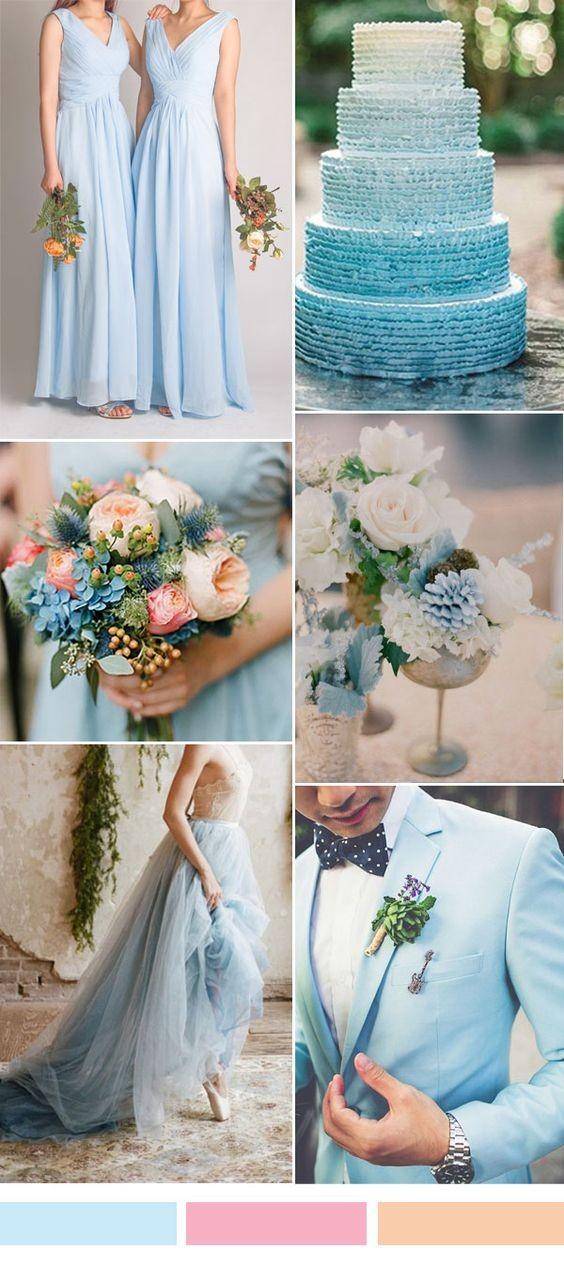 Skyblue wedding